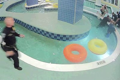 VIDEO: Tako nevarni so za otroke lahko bazeni! Dečka so morali oživljati...