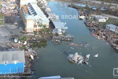 To so grozljive posledice hurikana Michael, ki je te dni opustošil Florido