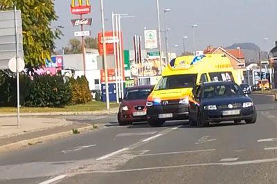 VIDEO: Šok za mariborske reševalce, to je pred njimi počel slovenski voznik