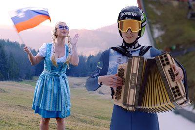 VIDEO: Timi Zajc pred Planico dobil svojo pesem, za harmoniko je prijel tudi sam