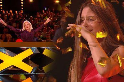 14-letnica na talentu prevzela sodnike, za svoj nastop je prejela zlati gumb