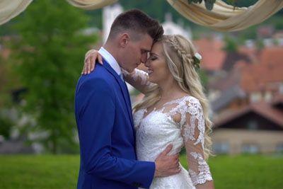 VIDEO: Ganljiva poroka Tjaše in Uroša! Poročne trenutke so ujele kamere...