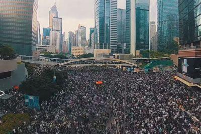 Tako izgledajo protesti na Kitajskem, ko se na ulice poda četrtina prebivalcev