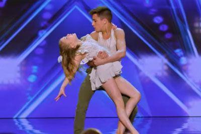 Otroka s plesom prevzela sodnike na talentu, njun nastop jemlje sapo