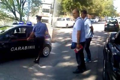 VIDEO: Slovenec v Trstu vztrajal: