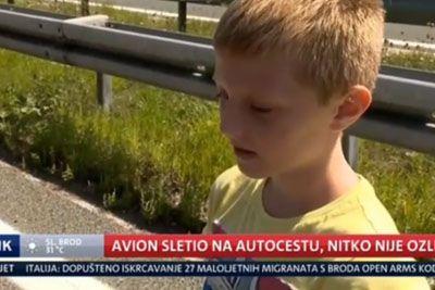 VIDEO: Malček iz Hrvaške nasmejal do solz: