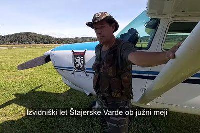 VIDEO: Štajerska varda iz zraka nadzoruje mejo, ki si jo želijo zapreti
