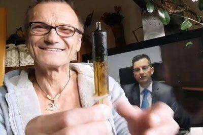 Slovenec je zbolel za rakom: Njegov posnetek danes obkroža Slovenijo!