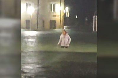 VIDEO: V Piranu tuli sirena za nevarnost: Mesto je pod vodo!