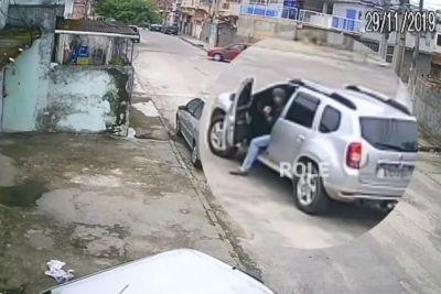 Ukradel je vozilo, a ga ni znal peljati: Takoj je dobil lekcijo!