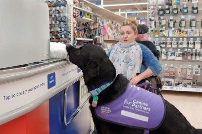 Kako pes vodnik pomaga lastnici, ki je pristala na invalidskem vozičku