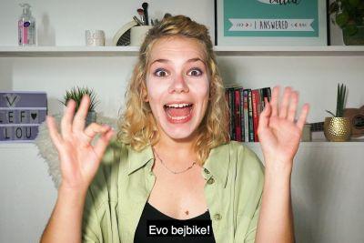 Slepa krafna nasmejala Slovence, privoščila si je Lepo Afno