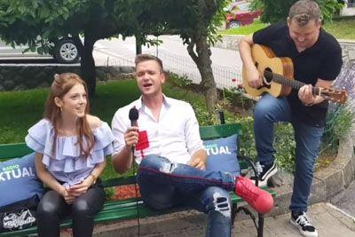 Luka Basi navdušil oboževalce: Tako je svoje pesmi prepeval v Sloveniji!