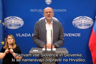 Poziv za vse Slovence, ki se odpravljajo na Hrvaško: To je povedal Jelko Kacin!