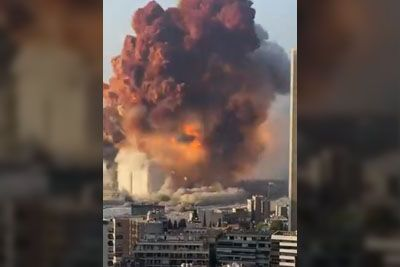 Srhljivka iz Libanona: Glavno mesto pretresla grozljiva eksplozija!