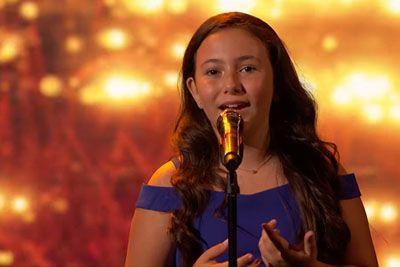 10-letna deklica na talentu ganila z nastopom: Zapela je uspešnico iz leta 2018!