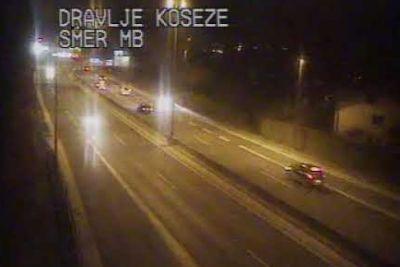 VIDEO: Voznik z BMW-jem vozil v napačno smer po ljubljanski obvoznici