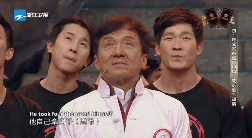 Jackie Chan Gets Surprised By His Original Stunt Team In