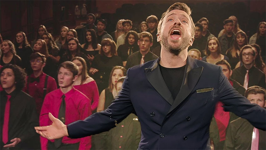 Man Begins Singing But When 200 Children Join In Everyone's
