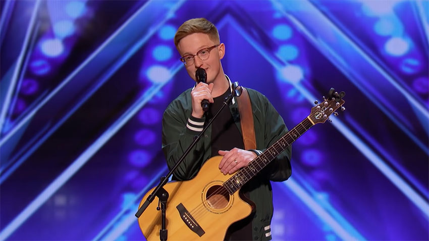 Simon Cowell Gives Tense Singer A Second Chance On AGT, And He